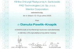 certyfikat-konferencja-szkoleniowa-chirurgia-plastyczna-piersi-i-twarzy