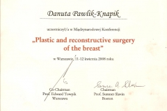 certyfikat-miedzynarodowa-konferencja-plastic-and-reconstructive-surgery-of-the-breast