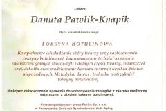 certyfikat-szkolenie-toksyna-botulinowa