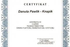 certyfikat-x-zjazd-polskiego-towarzystwa-chirurgii-plastycznej