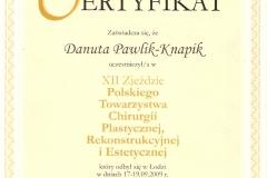 certyfikat-xii-zjazd-polskiego-towarzystwa-chirurgii-plastycznej
